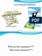 consumer behavior introduction