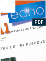 Echo A1 Methode De Francais Pdf