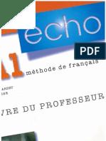 Echo A1 Livre Du Professeur
