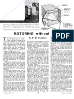 Motoring Without Petrol 1957
