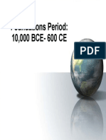 8000 bce - 600 ce