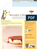 Baunilha e Caramelo