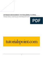 Database Mgmt Sys Tut for Beginners
