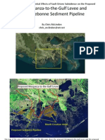 Evaluation of the Effect of Subsidence on the Morganza to the Gulf Levee System