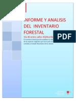 Informe y Analisis Del Inventario Forestal Amb