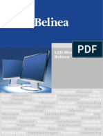 Belinea  monitor Manual En