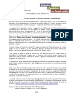 Comunicado de Prensa - Jornada