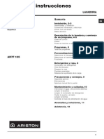 Lavarropa Ariston AR7F105
