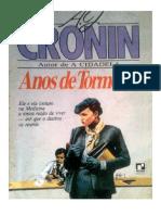 Anos de Tormenta a J Cronin