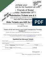 Topsfield Fair Tickets 2014