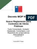 Decreto 75 MOP