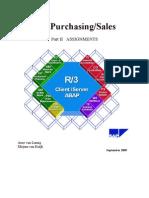 SAP Purchasing/Sales