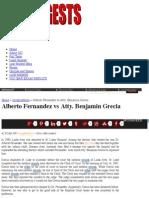 Alberto Fernandez vs Atty. Benjamin Grecia | Uber Digests