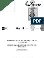 La Primavera Estructuralista. Lacan y El Lenguaje, Por Luis Franco Garrido