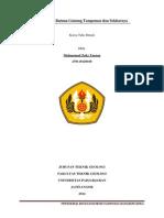 Petrokimia Batuan Gunung Tampomas Dan Sekitarnya