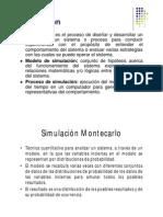 Método de Simulación MonteCarlo