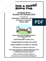 Jumping Show Oct 2014