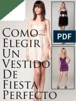 Como Elegir Un Vestido de Fiesta