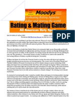 Rating and Mating Game - US abuse of rating agencies