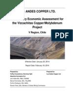 1. Viscachita Project (Cu-Mo)