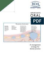 Screening oral cancer