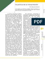 Focault - Una Política de La Interpretación - Gruner