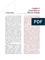 PM1 Chapter 4 - Developing Work Plan