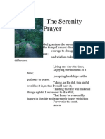 The Serenity Prayer.
