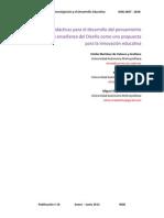 Estrategias Didacticas Para El Desarrollo Del Pensamiento-Revista