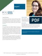 Susan Foosness, PCG Human Services Subject Matter Expert
