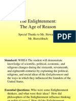 Age of Reason Ppt