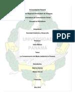 LA CONTAMINACIÓN DEL MEDIO AMBIENTE EN PANAMÁ.docx