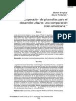 Smolka Martin EURE - Recuperación de Plusvalías Para El Desarrollo Urbano. Una Comparación Interamericana