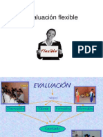 Evaluación Flexible