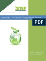 Processos de Degradacao Natural