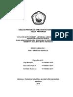 Contoh Format Proposal Pkm-gt