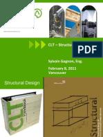 CLT Structural Design