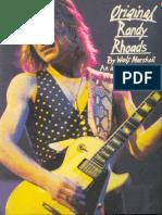 (Guitar Book) Randy Rhoads - The Original