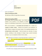 Final Report of FDI