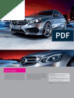 Broșură Mercedes-Benz E-Class
