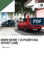 Ficha Tecnica BMW 118i (5 Puertas) Sport Line Manual 2015