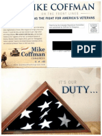 Rep. Mike Coffman campaign mailer