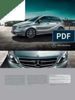 Broșură Mercedes-Benz B-Class