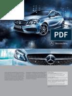 Broșură Mercedes-Benz A-Class