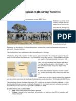 Elephants - Ecological Engineers