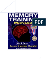 Memory Training Manual