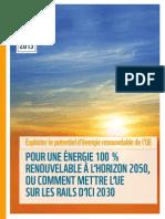 2013rapportuepouruneenergie100renouvelablelhorizon2050_130717082305_phpapp02