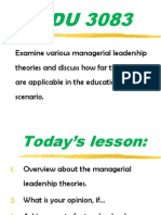 Presentation Leadership Theories