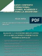 2007 04 24 Nuevo Contexto Internacional
