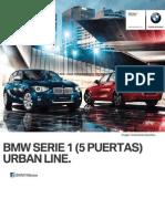 Ficha Tecnica BMW 118i (5 Puertas) Urban Line Manual 2015